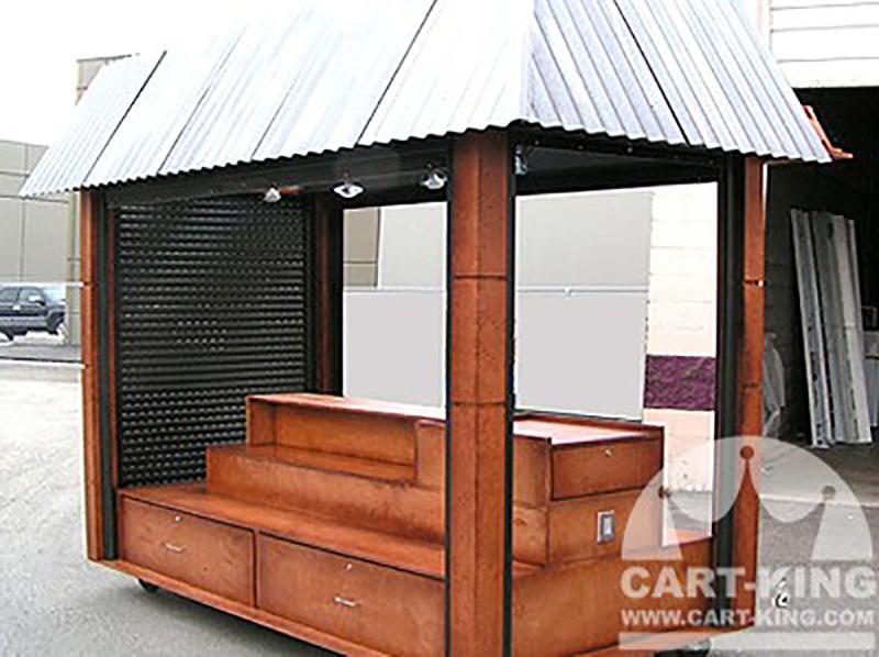 Mobile retail stand display carts kiosks ideas designs for Exterior kiosk design