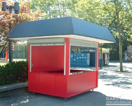 Outdoor Retail and Info Cart