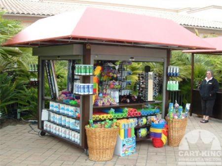 Rustic Retail Merchandise cart RMU from Cart-King