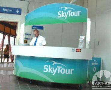 Information Kiosk Cart Manufacturer