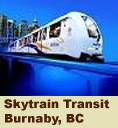 Skytrain Transit Burnaby BC