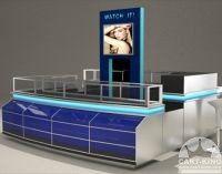 retail display carts and kiosks