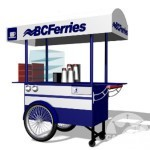 BC Ferris Retail Merchandizing Cart