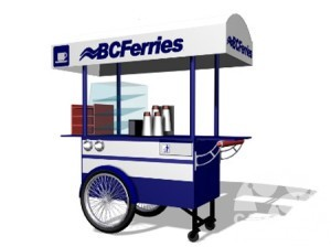Portable Coffee Cart