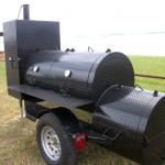 BBQ Smoker Food Trailer
