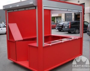 theme park Outdoor Retail Kiosk
