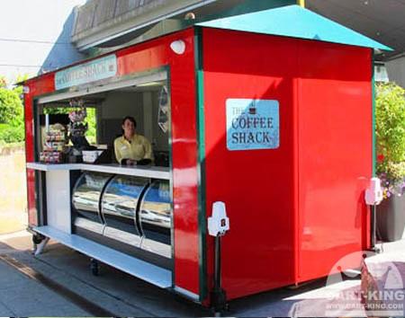 Coffee Shack Retail Trailer Cart King International