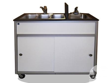 Merveilleux Food Cart With Self Contained Sink From Cart King
