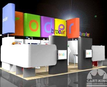 Large Retail Display Kiosk