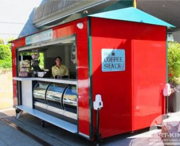 Cart-King Mobile Food Trailer - Coffee Stand