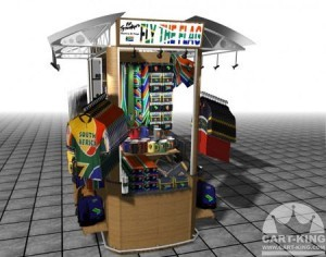 Sports Team Display Kiosk