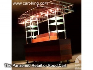 mobile catering carts