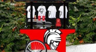 Warrior Merhcandise EZ Cart from Cart-King