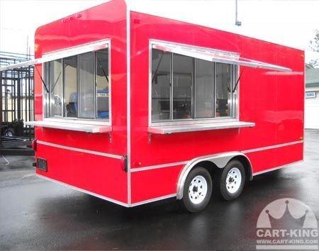 Big Red Concession Trailer For Sale