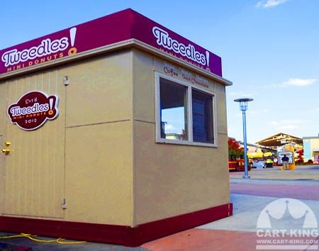 Tweedles Donuts Mobile Food Trailer from Cart-King
