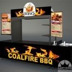 BBQ Food Cart Vendor