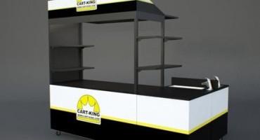 Mobile Food Vending Cart