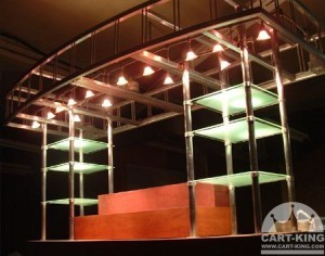 catering carts for indoor and outdoor