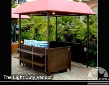 Outdoor Booth Kiosk from Cart-King