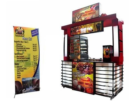 Portable Mobile Food Cart