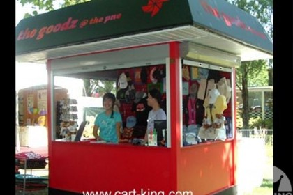 Branded Concession Booth from Cart-King
