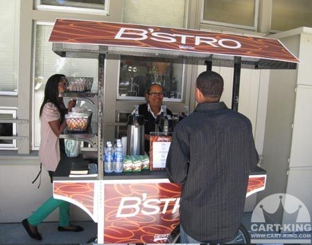 EZ Food Cart Coffee Cart