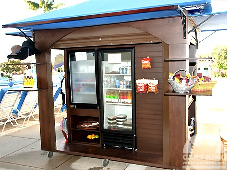 Food and beverage vendor kiosks custom stands ideas for Mobili kios