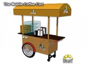 street mobile coffee cart