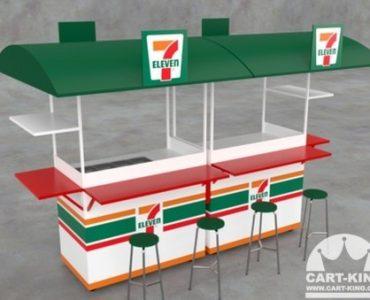 custom coffee carts outdoor