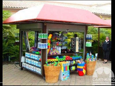The poolside Outdoor Retail Merchandising Unit