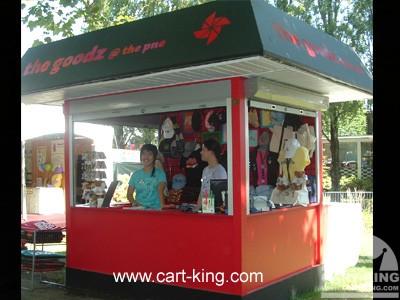 Theme park kiosk stadium kiosk cart king international for Garden kiosk designs