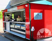mobile and outdoor coffee kiosks
