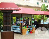 Outdoor Retail Kiosks and retail carts