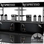 double espresso cappuccino kiosk