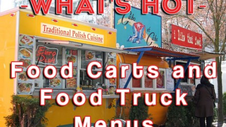 food cart food truck menu items