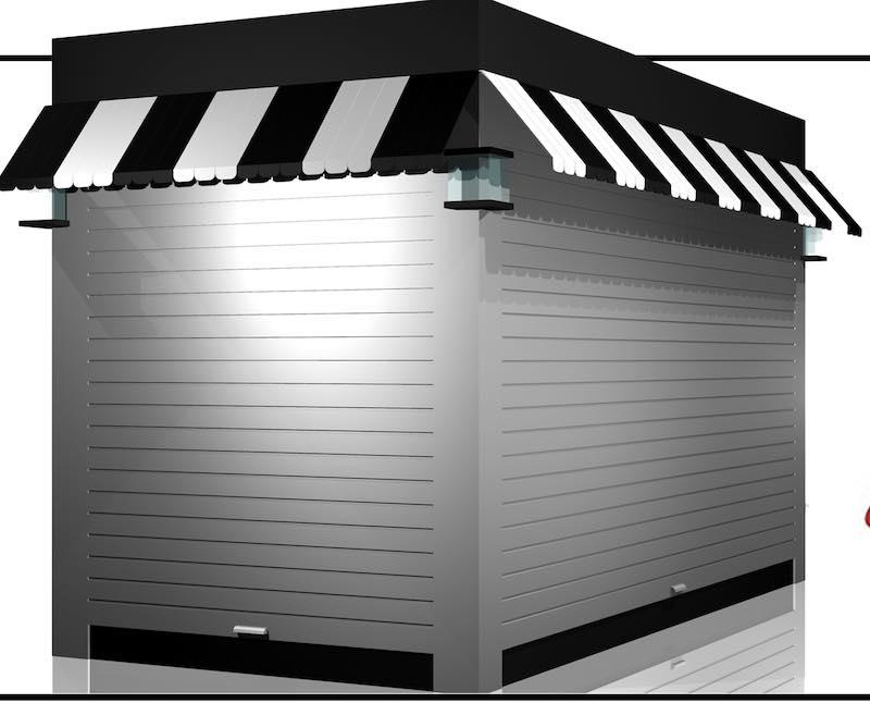 Outdoor zoo retail kiosk design ideas and manufacturing for Exterior kiosk design
