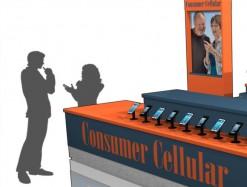 Cel Phone Display Kiosk