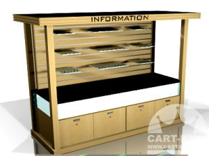 Indoor Wall Unit Retail Cart King International