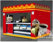 food carts and Food Kiosks from cart king