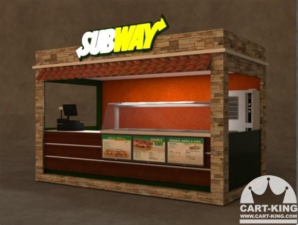 Fast food kiosk custom commercial burger hot dog kiosks for Exterior kiosk design