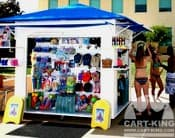outdoor retail kiosks and carts