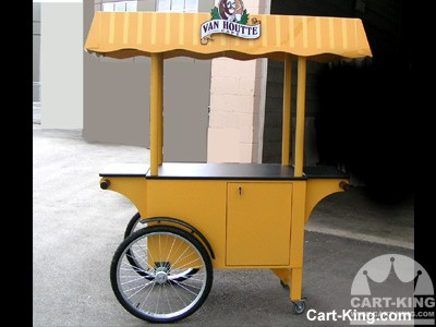 Van houtte coffee carts cart king international for Coffee carts for office