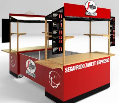 Mobile vending carts or kiosks custom design outdoor for Mobili kios